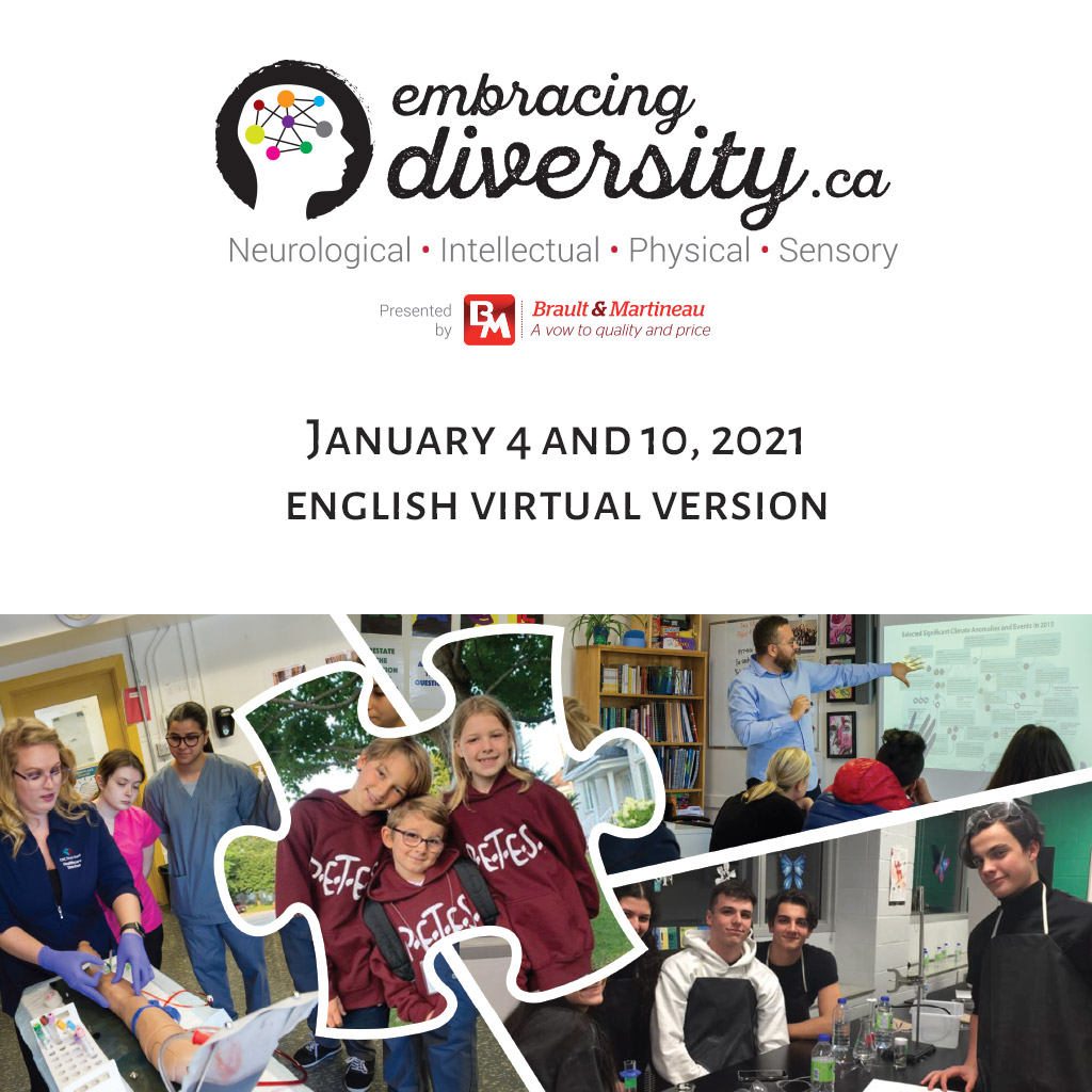 Image of the Embracing Diversity January 4, 2021 Student event area
